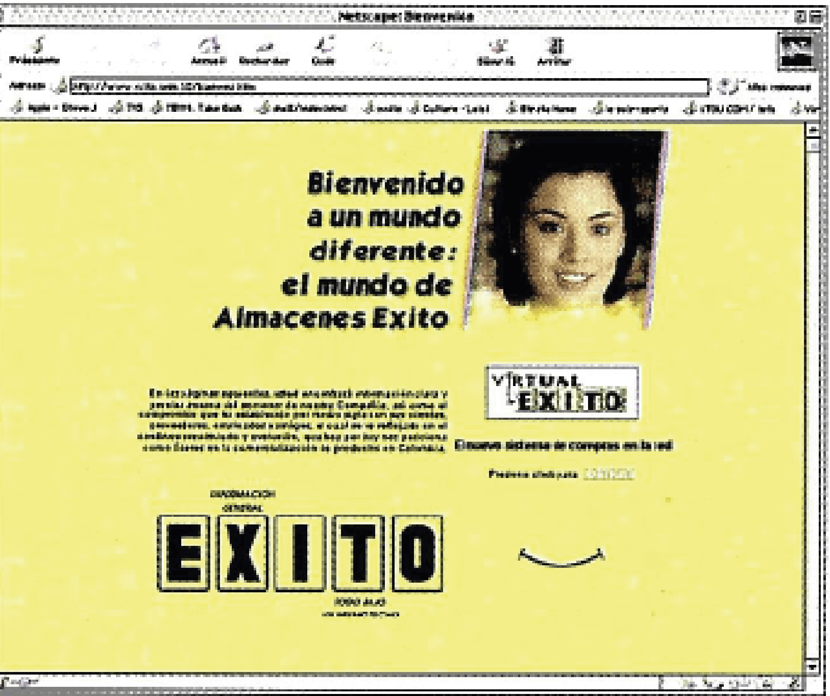 www.exito.co begins to operate